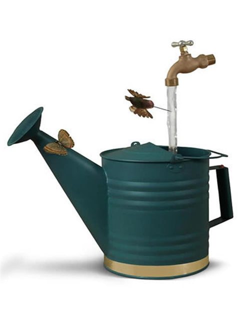 Green Deluxe Watering Can