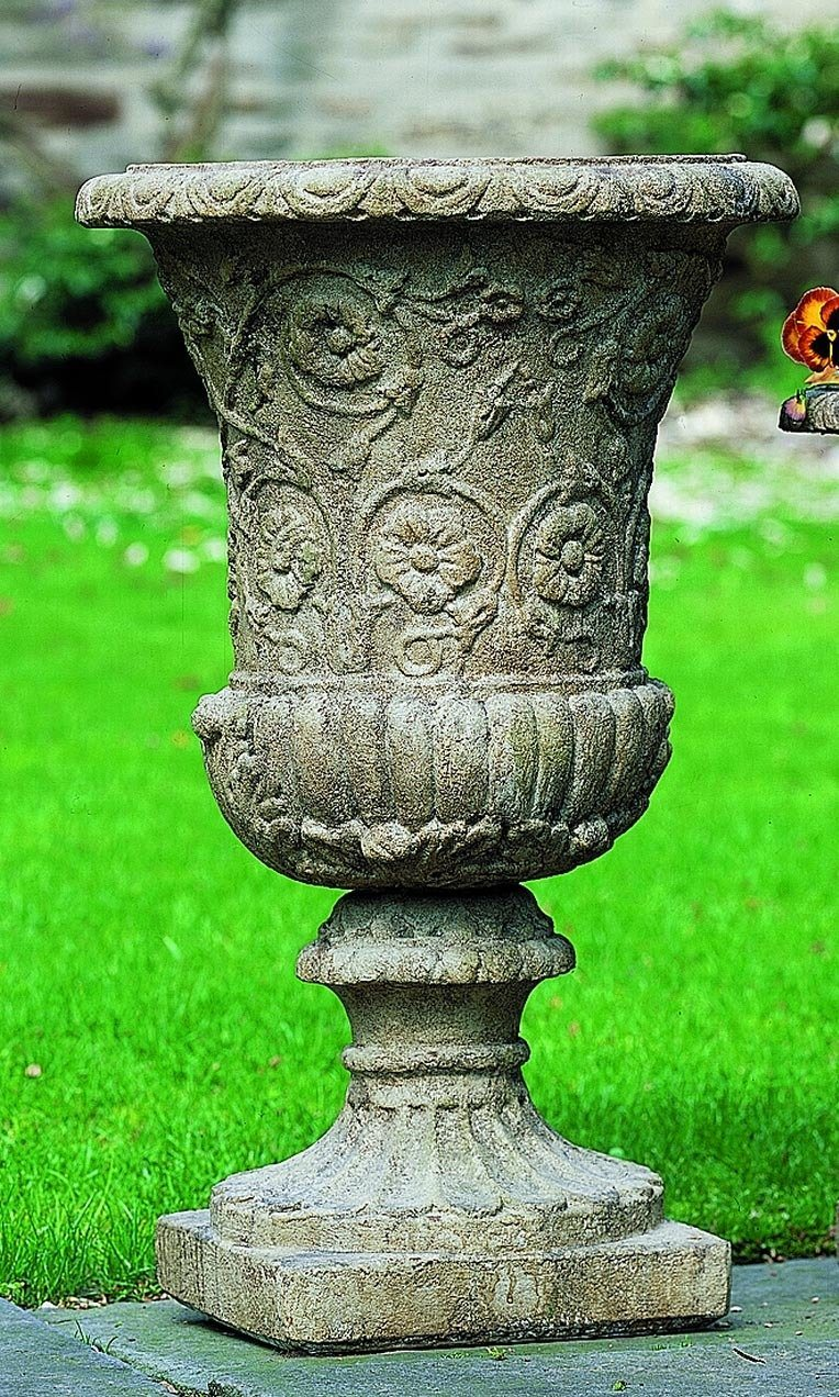 Set of 2 Farnese Medium Urns with FREE Plants