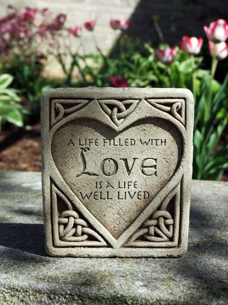 Celtic Love Plaque/Sculpture