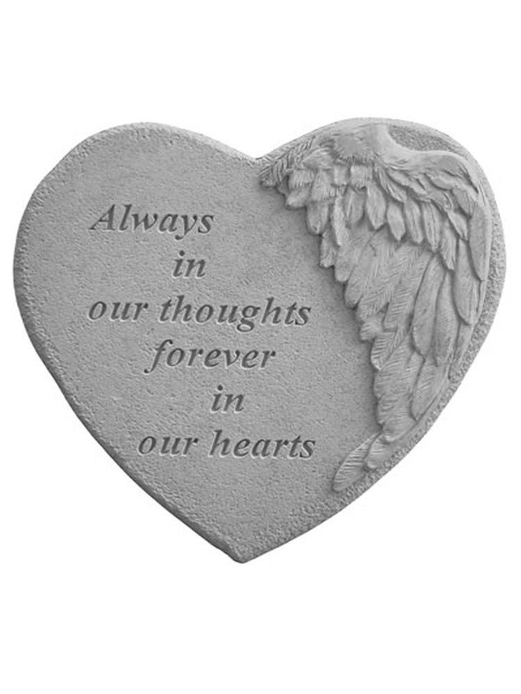 Winged Heart- Always in our thoughts