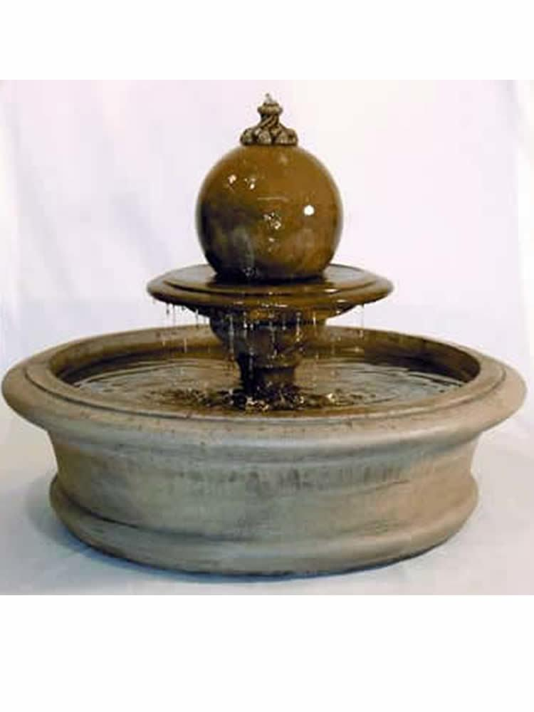 Fairfield Fountain with Sphere on Tier