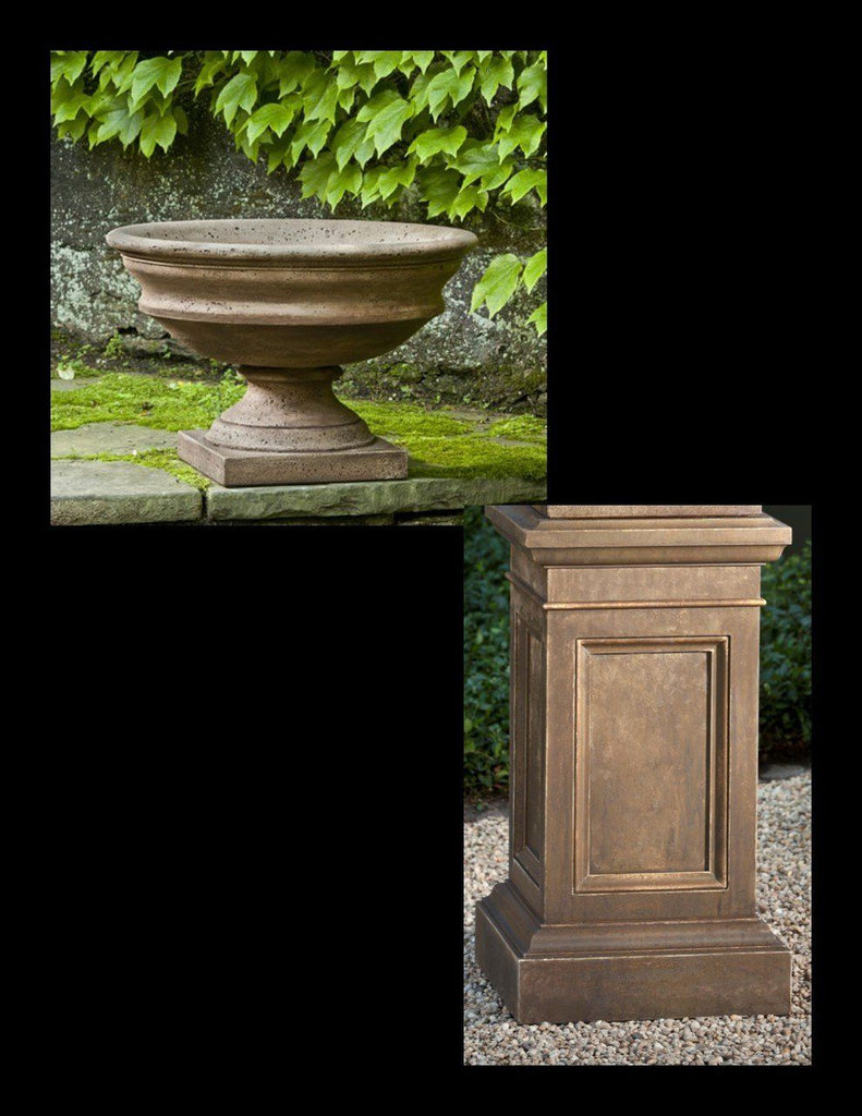 Newberry Urn with Pedestal
