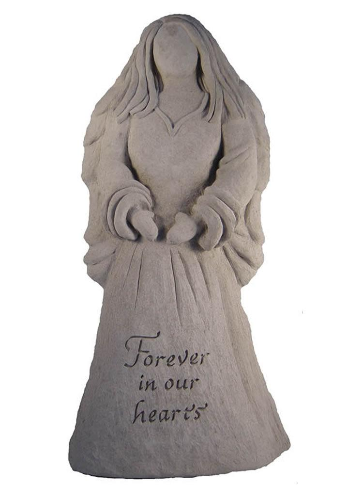 Forever In Our Hearts Angel Statue