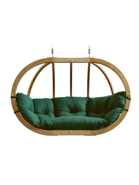 Globo Double Chair Green