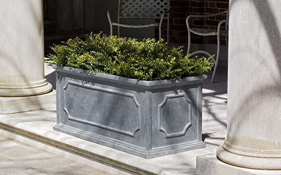 Hampshire Large Window Box - Lead Lite