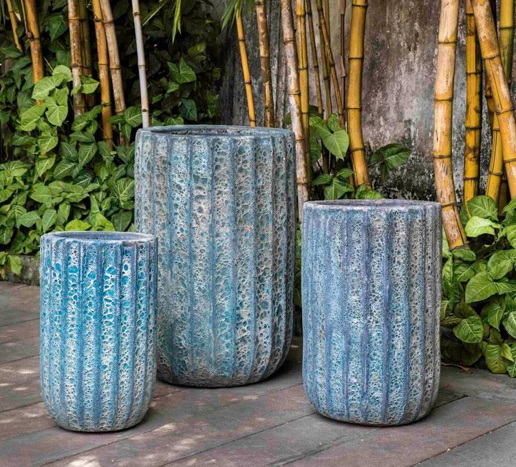 Maris Planter-Aqua Blue Coral