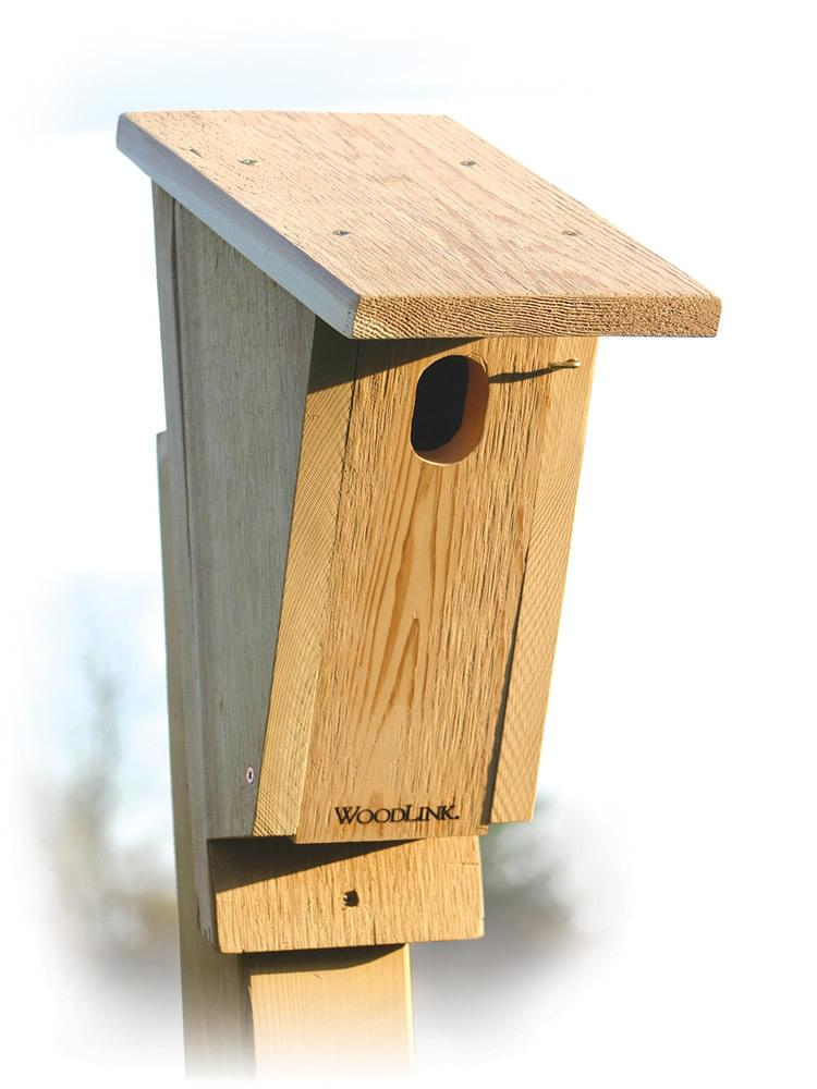 Sloped Front Bluebird House