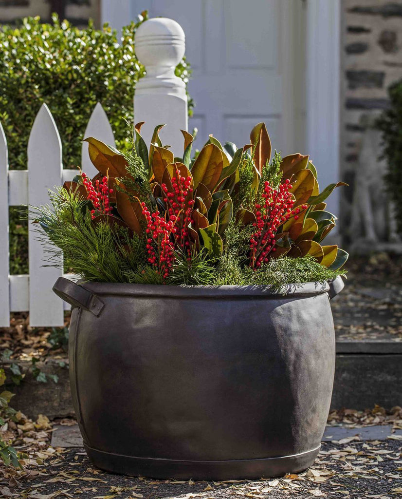 Copper Kettle Planter