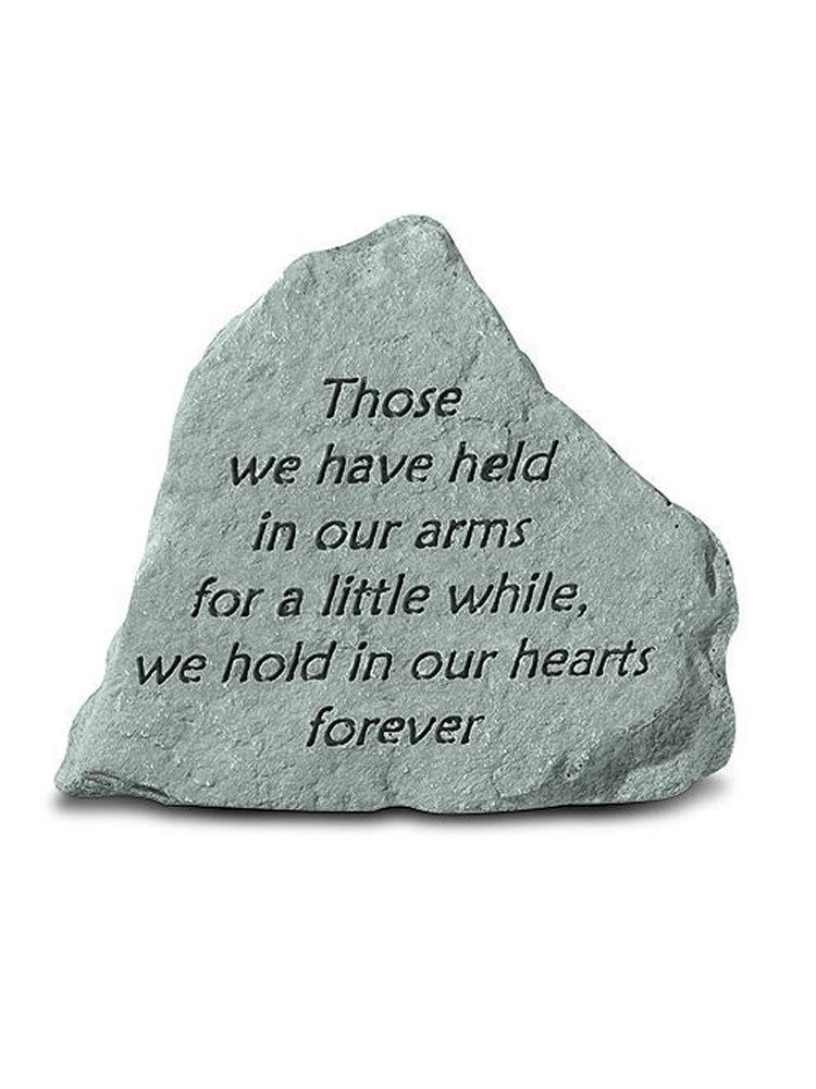 Those We Have Held Mini Garden Stone/Plaque