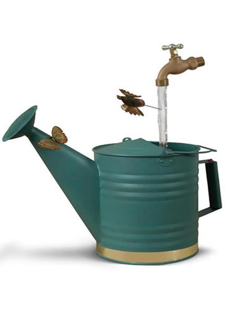 Deluxe Watering Can in Weathered Copper