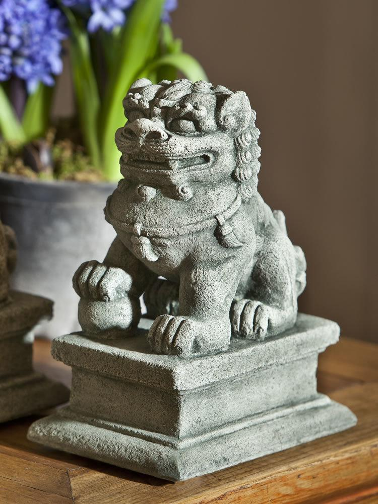 Small Temple Foo Dog Right