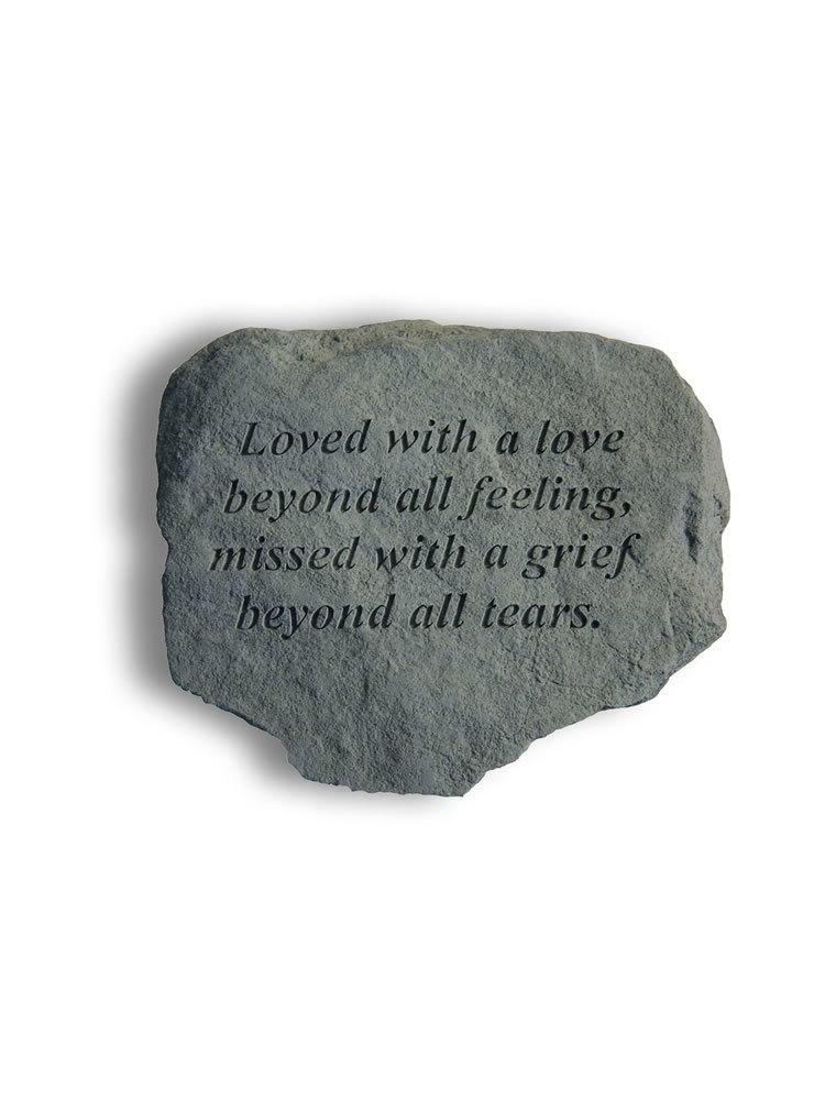 Loved with a Love Stone Plaque