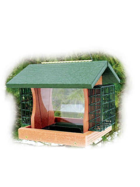 Going Green  Large Premier Feeder with Suet