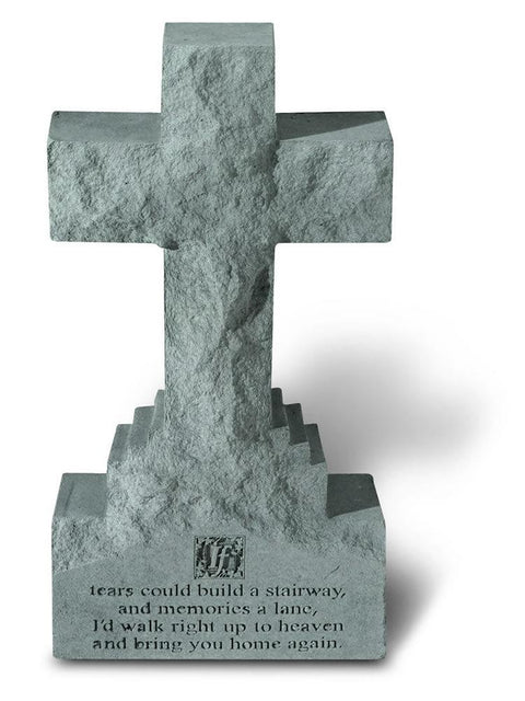 If tears could.. Cross Statue