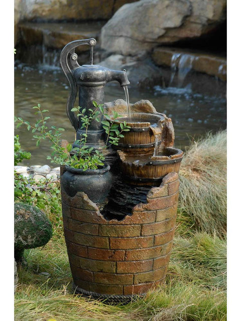 Glenny Water Pump Cascading Fountain