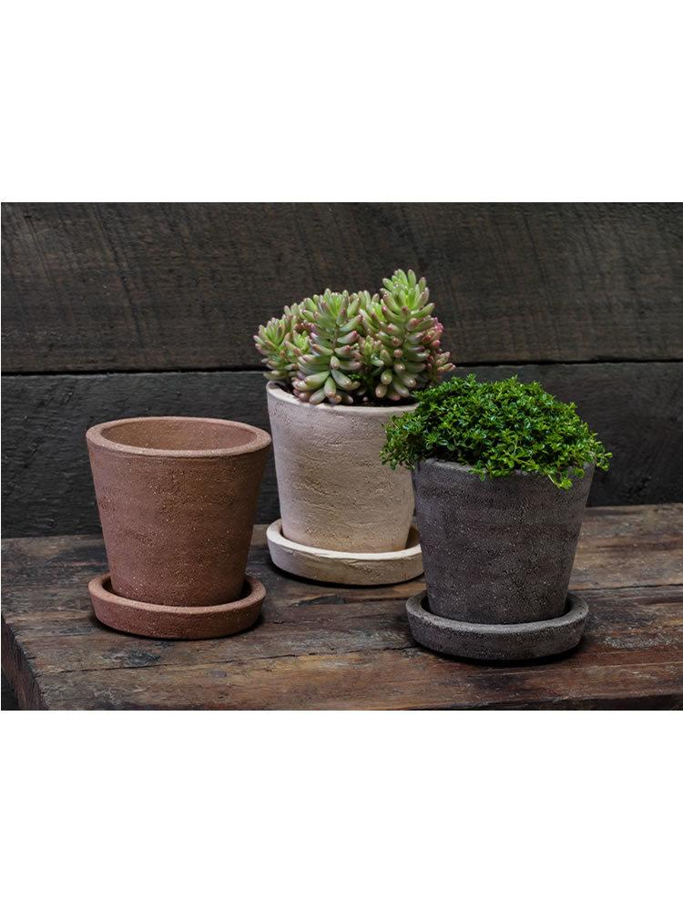 Farmer's Herb Pot Set of Six in Earth Naturals Mix