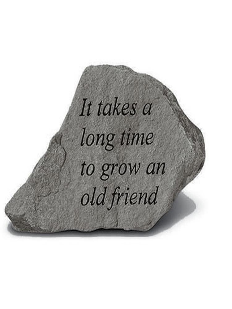 Grow an Old Friend Mini Garden Stone/Plaque