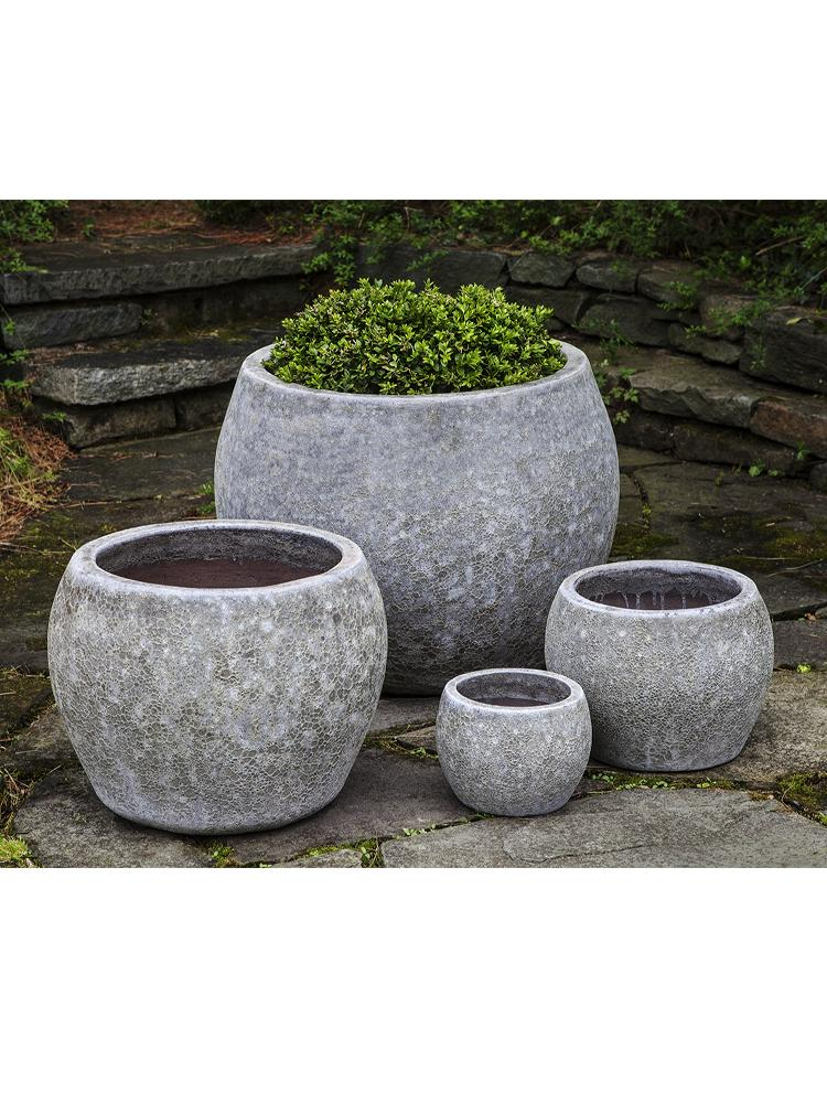 Naxos Planter - Set of 4 in Angkor Grey