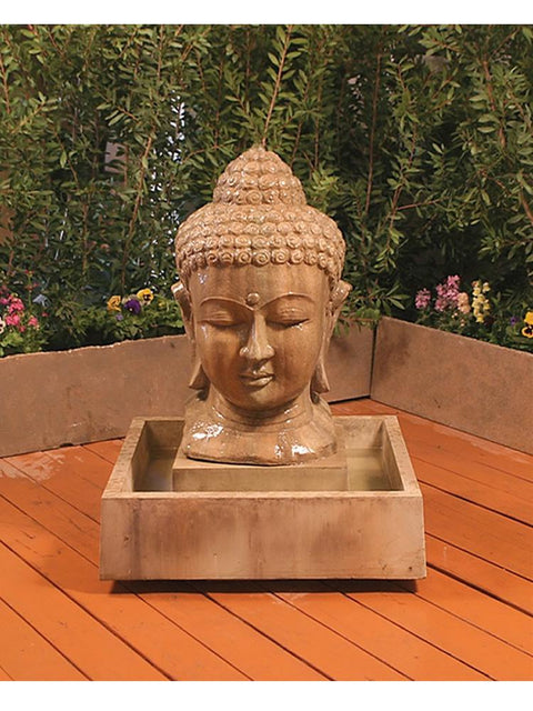 Buddha Head Fountain, Small