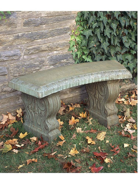 Traditional Curved Garden Bench