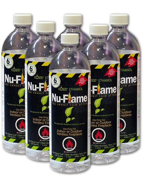 Nu Flame Bio Ethanol Fuel Case of 6
