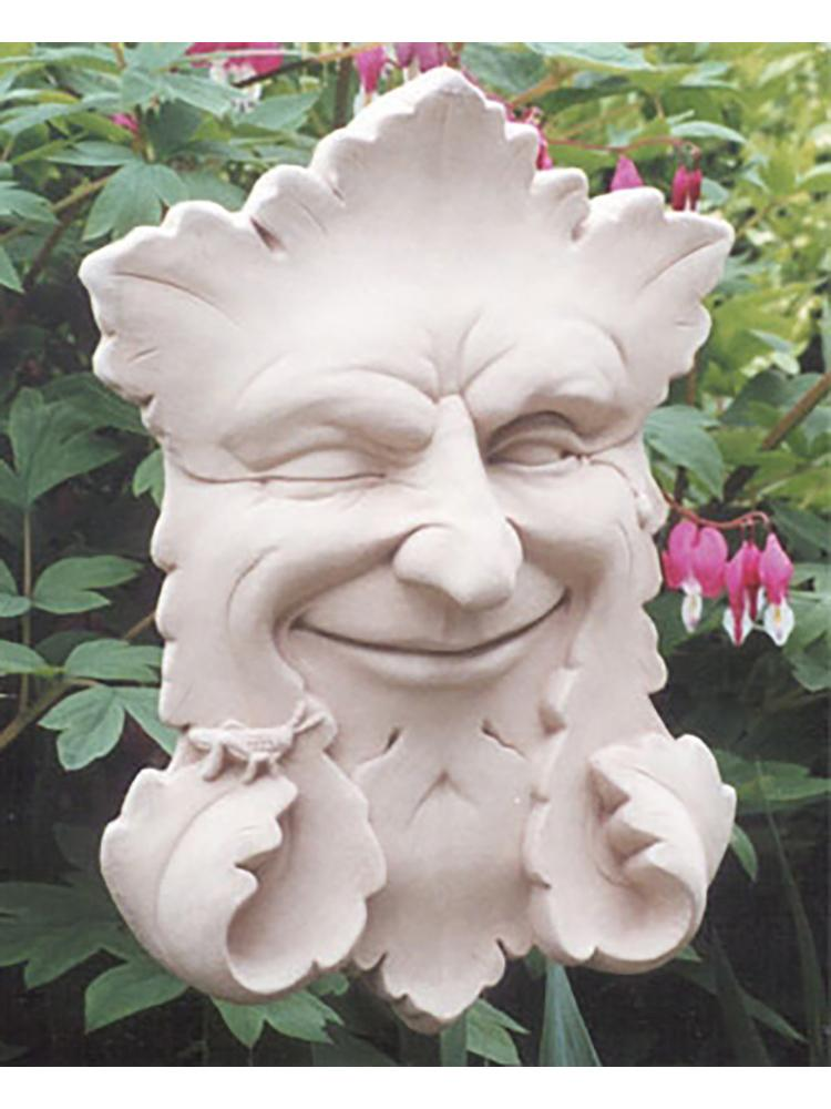 Smiling Leaves Garden Plaque