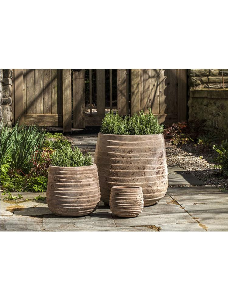 Ipanema Planter Set of Three in Antico Terra Cotta