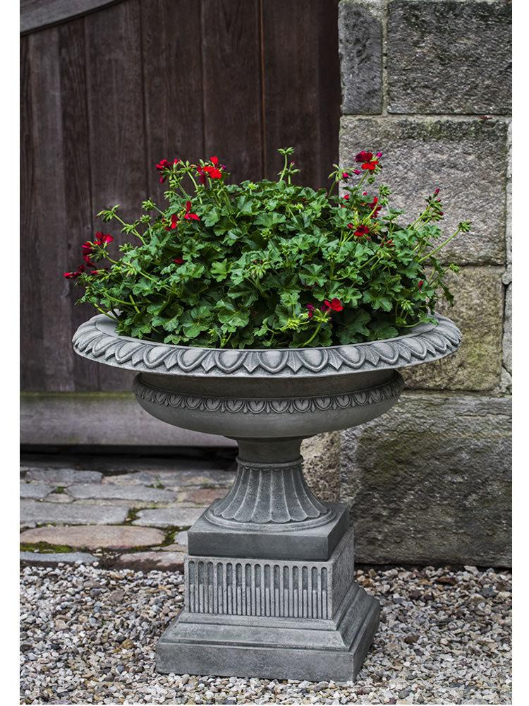 Beacon Hill Urn with Beacon Hill Pedestal