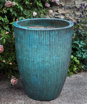 Bamboo Planter - Weathered Copper