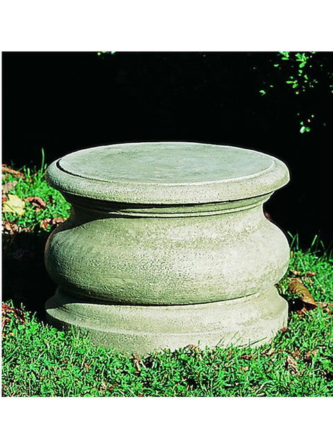 Low Round Plain Pedestal