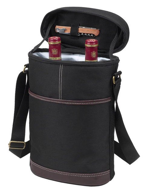 Two Bottle Insulated Tote