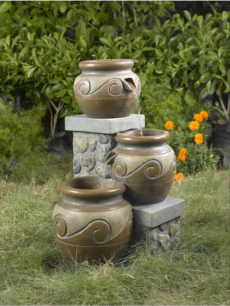 Tiered Mesa Pot Fountain