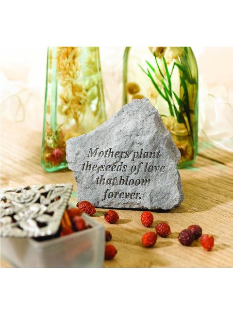 Seeds of Love Mini Garden Stone/Plaque