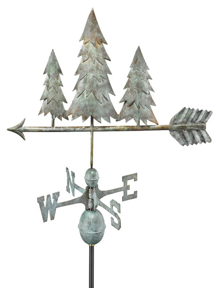 Evergreens Standard Weather Vane