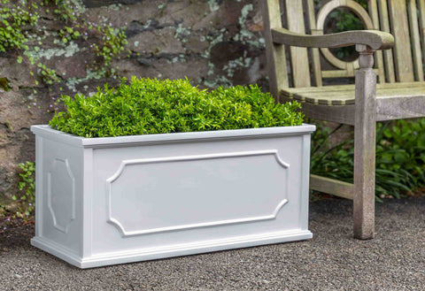 Hampshire Medium Window Box in Lead