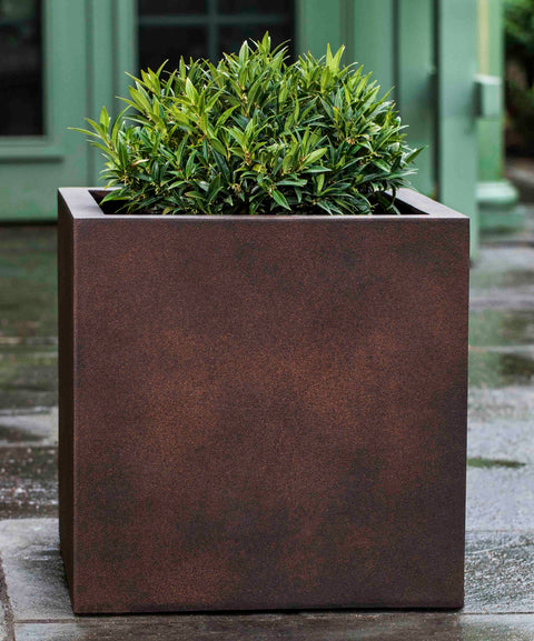 Farnley Large Planter - Rust Lite