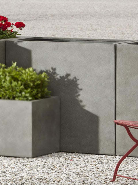 Modular Lite Planter 4 in Concrete Lite