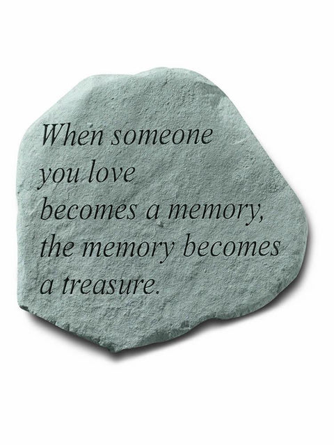 When Someone You Love Stone Plaque
