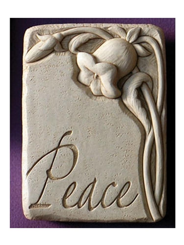 Peace Garden/Wall Plaque