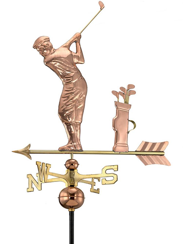Gone Golfing Standard Weather Vane