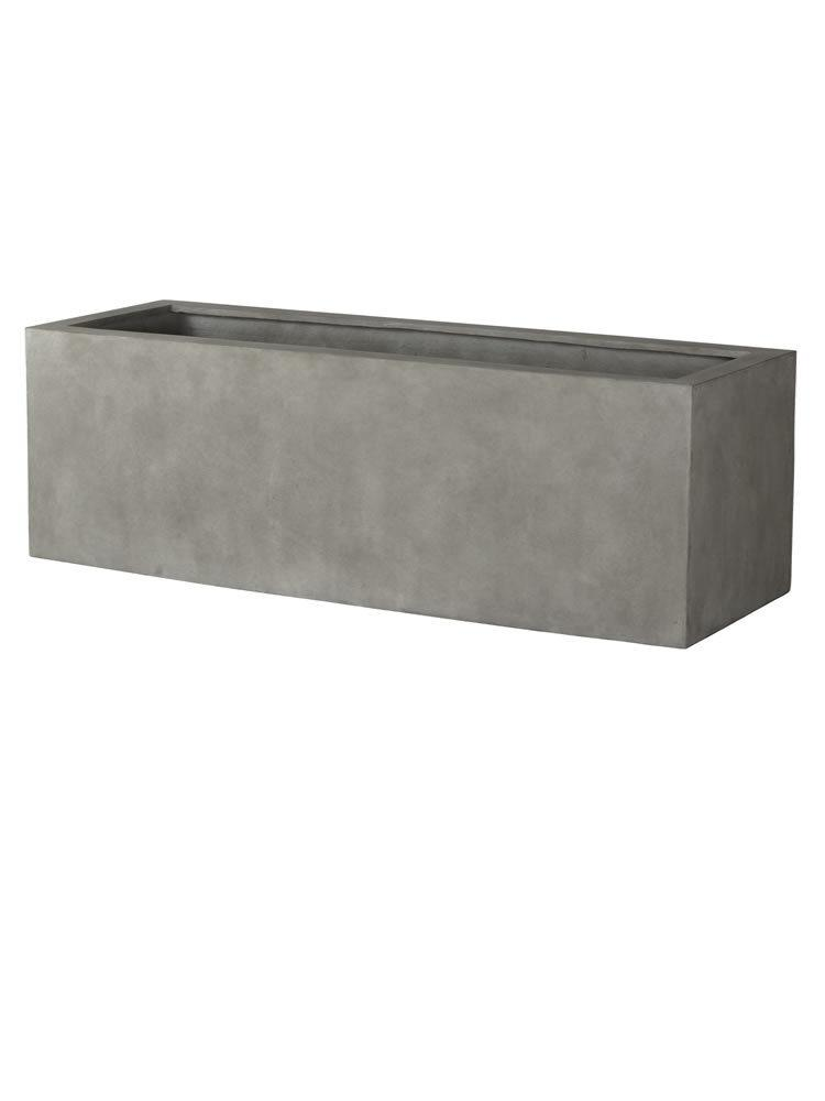 Big Box Planter in Concrete Lite