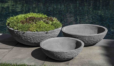 Stone Ledge Zen Bowl - Set of 3 in Stone Ledge