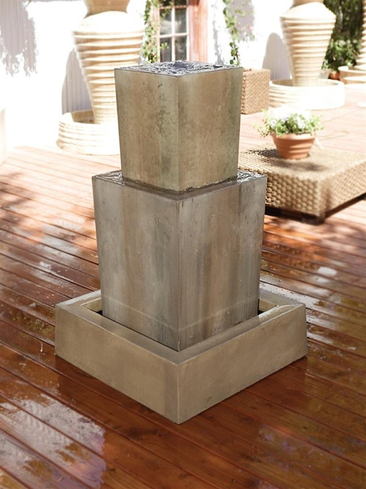 Double Square Fountain