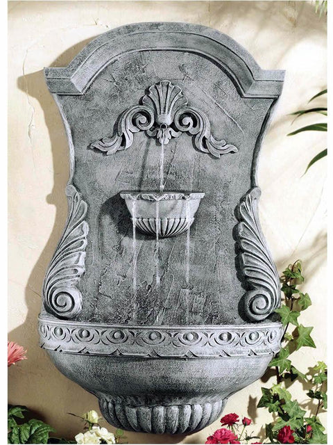 Classic Shell Wall Fountain