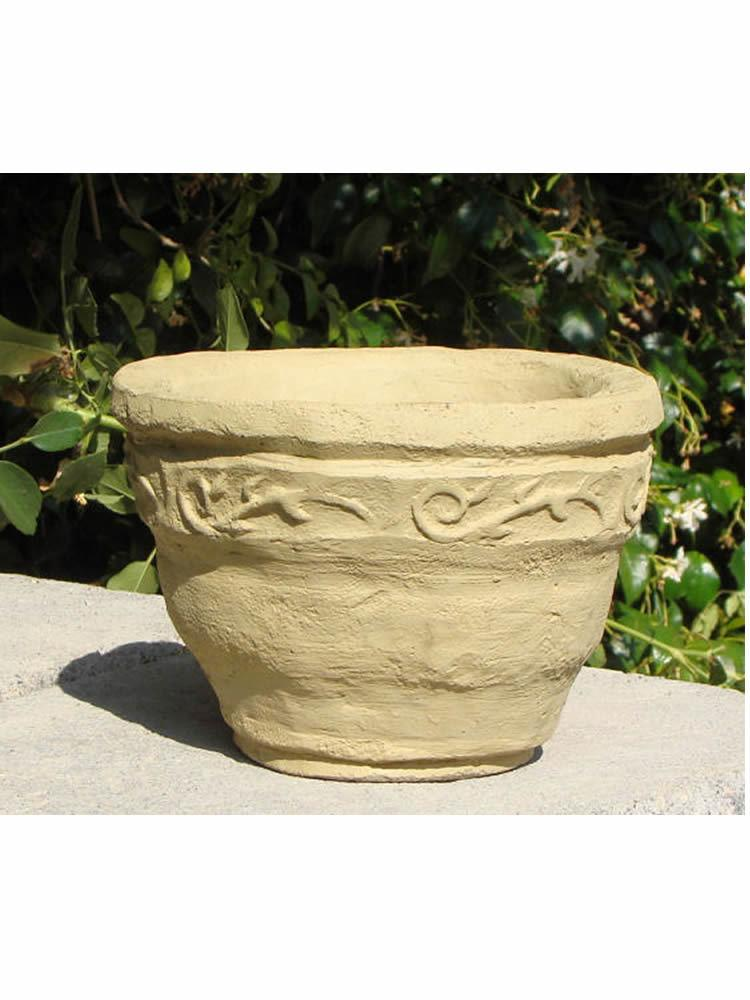 Scroll Flower Pot