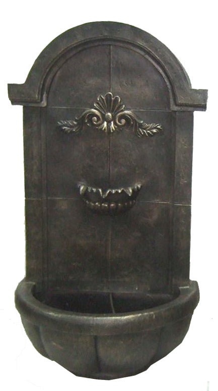 Perpignan Wall Fountain - Antique Bronze