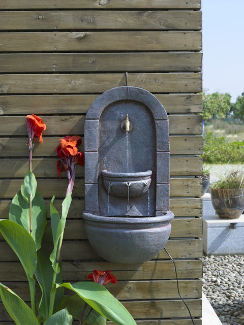 Milano Wall Fountain - English Iron