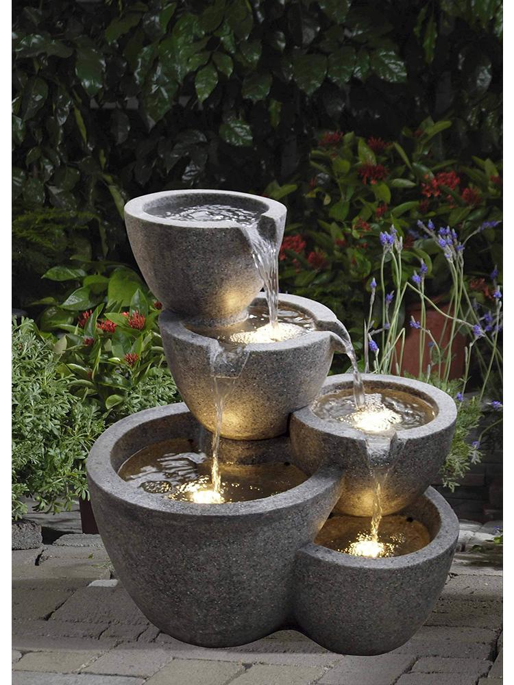 Exceptionnel Tiered Bowl Water Fountain