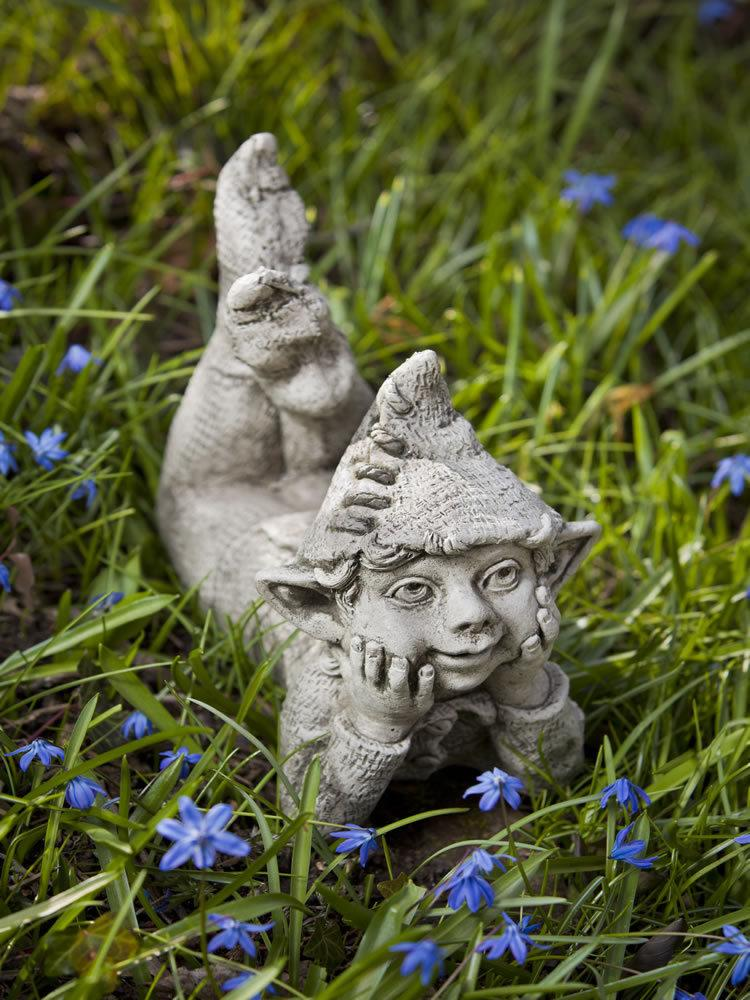 Outdoor Mythical Children Stone Garden Statue: Campania International:  Ronin U2013 Garden Fountains.com