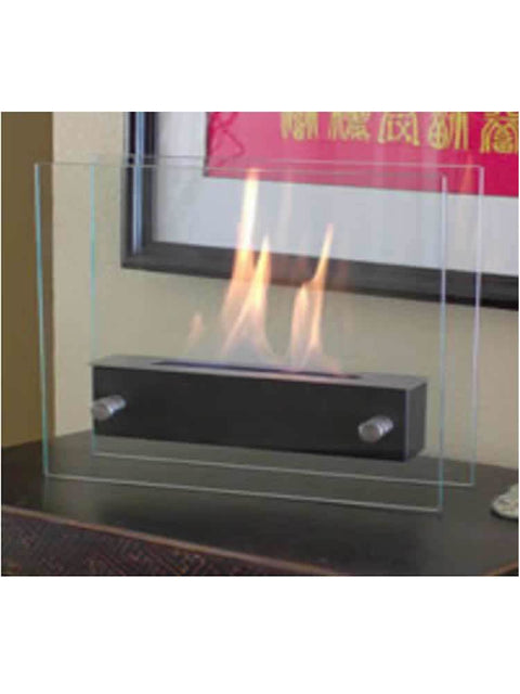 Irradia Noir Tabletop Ethanol Fireplace
